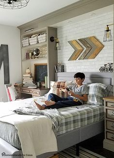 31 Best Bedroom Ideas For Teenage Guys With Small Rooms images in ...