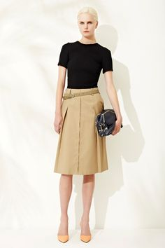 Simply simple and perfect for work! 3.1Phillip Lim Resort '13