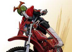 ライダー + バイク = 鬼に金棒