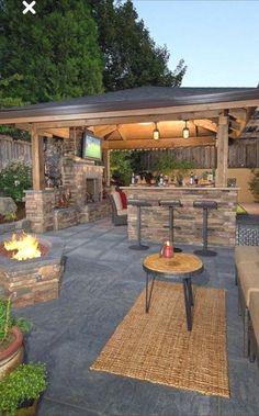 Pergola For Small Patio Patio Pergola, Backyard Pavilion, Pergola Design, Backyard Patio Designs, Backyard Landscaping, Patio Ideas, Gazebo, Garden Ideas, Porch Ideas