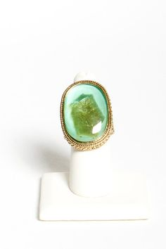 Sliver Agate Ring | A-thread