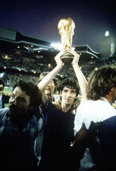 Paolo Rossi and Giancarlo Antognoni. 1982.