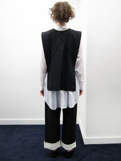 Rowena Sartin Apron Vest | Back Loop - Garmentory