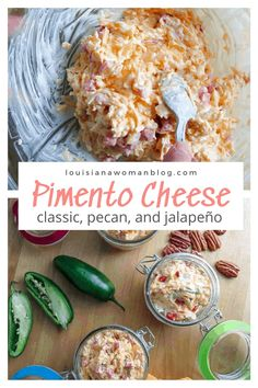 Pimento cheese, that southern caviar spread, is delicious in its classic form and even more so with added ingredients. Just a few simple add-ins of cream cheese, pecans, jalapenos, and seasonings can take this quintessential pate' to the next level of flavor! #pimentocheese Healthy Toddler Meals, Healthy Comfort Food, Healthy Snacks, Toddler Food, Pecan Recipes, Cajun Recipes, Cajun Food, Free Recipes, Catering Food Displays