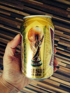 I've got the #Bud #Cup in my hands.. #beer #packaging #football #soccer #fifaworldcup2014