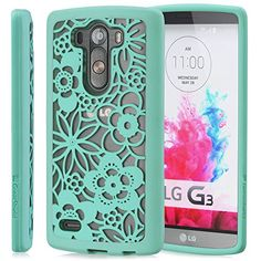 GreatShield LG G3 Case [TACT ARMOR] Shock Absorbent Slim Hybrid Design Pattern Cover for LG G3 (Flora - Teal) GreatShield http://www.amazon.com/dp/B00NETKSZQ/ref=cm_sw_r_pi_dp_rtBuub1NXW8DE