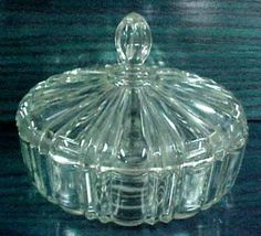 The Main Candy Dish - On grocery days it would be filled with M&M's or Brach's Assortments and was usually empty by the next grocery day two weeks later.