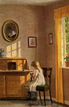 Berlin Child Knitting