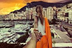 The couple that plans to travel the entire world is back with another amazing photo collection. Photographer Murad Osmann and his girlfriend are known for being anywhere but home and having the photos to prove it. Osmann takes photos of his… Monaco, Murad Osmann, Travel Around The World, Around The Worlds, Beautiful Girlfriend, Photo Series, New Adventures, Travel Couple, Girl Travel