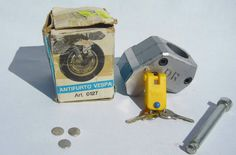 Anti-Theft Lock for Vespa PX125 - 150E - P200E with 36mm diam. fork - Price:US $79.99
