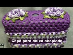 PASSO A PASSO CAPA CAIXA ACOPLADA de DESCARGA - JG BANHEIRO ROSE (CROCHÊ,TUTORIAL COMPLETO, DIY - YouTube Bathroom Crafts, Bathroom Sets, Tissue Box Covers, Tissue Boxes, Crochet Carpet, Leaf Design, Crafts For Kids, Crochet Hats, Beanie