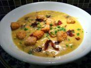 Ingredients: 4 c. Chicken broth 4 c. Cubed idaho potatoes ½ tsp salt ½ tsp fresh ground black pepper ¼...