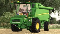 John Deere T560l Harvester V1 - Farming Simulator Mod Center New Holland, New Tyres, Harvester, Tractors, Monster Trucks, Farming, Ps4, Ps3