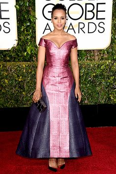Kerry Washington Photo - Golden Globes 2015 Red Carpet Fashion: What the Stars Wore - Us Weekly John Legend, Celebrity Red Carpet, Celebrity Outfits, Celebrity News, Red Carpet Dresses, Golden Globes, Red Carpet Looks, African Dress, Red Carpet Fashion