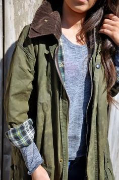 Oversized Army Collar Jacket With Full Sleeves Sweater