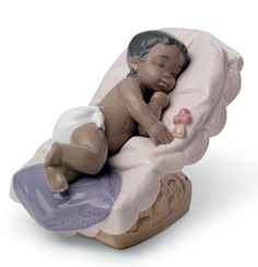 Nao Porcelain African American - DREAM LITTLE GIRL - African American Fine Art Porcelain Doll Makeup, Porcelain Dolls Value, Porcelain Dolls For Sale, Porcelain Jewelry, Fine Porcelain, Painted Porcelain, Porcelain Tiles, China Vase, China Mugs