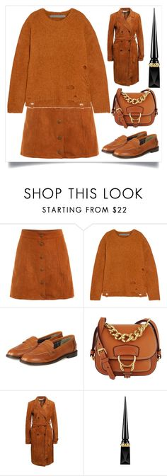 """""""// 296."""" by peachyclouds ❤ liked on Polyvore featuring Raquel Allegra, Barbour, Miu Miu and Christian Louboutin"""