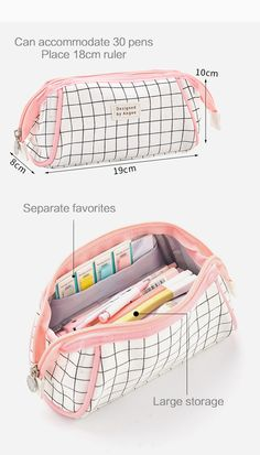 Aesthetic Check Pencil Cases - Aesthetic Check Pencil Cases – NotebookTherapy Informations About Aesthetic Check Pencil Cases Pin - Middle School Supplies, Back To School Supplies, College Supplies, School Pencil Case, Cute Pencil Case, Pencil Bags, Pencil Pouch, Cute Backpacks For School, School Suplies