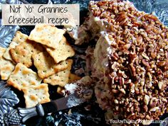 "Easy cheese ball  recipe with a ""secret"" ingredient that takes it over the top! YouAreTalkingTooMuch.com"