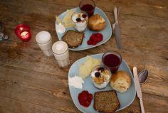 Scandinavian bfast ... simple enough for camping