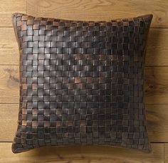 Leather pillow - Love it!