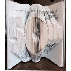 50th - Book Folding Pattern Book Folding Patterns / Templates and Book Folding Software on Bookami®