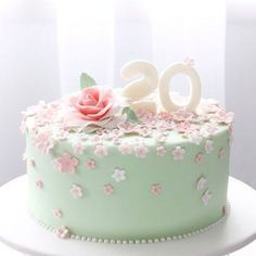 Cute #& Beautiful Birthday Cakes from Pinterest