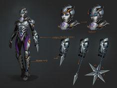 ArtStation - assassin concept, J.C Park