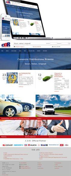Responsive and full-width web site cdr-reggio.it #web #webdesign #design #project #UI #UX #portfolio #inspiration