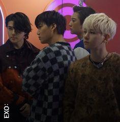 """쉰화 ❄️ on Twitter: """"LDF X EXO Behind The Scenes #EXO #엑소 @weareoneEXO… """" Kim Kai, Exo, Yixing, Chanbaek, Kyungsoo, Boy Groups, Behind The Scenes, Rapper, Boys"""