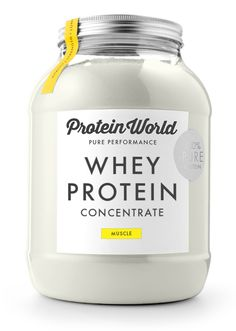 Whey Protein Concentrate - Protein World