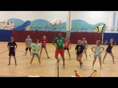Aerobics Workout Music - YMCA - Fitness & Diets : Move it Or Lose It source for fitness Motivation & News Show Dance, Just Dance, Movement In Music, Cant Stop The Feeling, Zumba Kids, Youth Games, Pe Games, Elementary Pe, Pranks