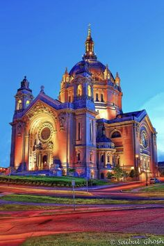 St. Paul Cathedral in St. Paul, MN