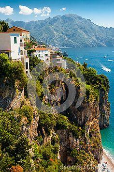 Precarious Amalfi Coast