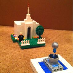 Lego Temples are neat.