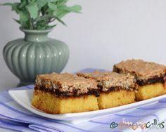 Prajitura de casa cu nuca gem si bezea Tiramisu, Banana Bread, French Toast, Breakfast, Ethnic Recipes, Desserts, Food, Drink, Home