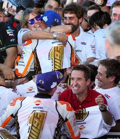 """(Marc+Dani) (@9326champs) on Instagram: """"Proud Dad and Proud Mum is heartwarming #MM93 @marcmarquez93 a huge victory for them #Family #BIG6…"""""""