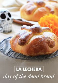 Your Dia de los Muertos celebration wouldn't be complete without this recipe for La Lechera Day of the Dead Bread. With the classic dusting of sugar on top, your family will love the taste of tradition baked within this mouthwatering treat.