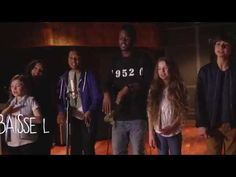 KIDS UNITED - Sur Ma Route feat. Black M (Lyrics video) - YouTube
