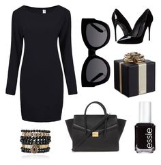 Без названия #10 by klubnika48 on Polyvore featuring polyvore, beauty, Essie, Karen Walker, Samantha Wills, Forever 21, Kate Spade and Dolce&Gabbana