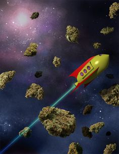 Weed take me outer space! #smokeweedeveryday