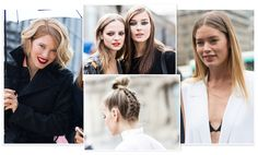 Always ahead of the trends with their bold looks and skilled mastery of classic styles, see the hair and make-up statements spotted by photographer Sandra Semburg on the streets of New York to Paris at Fashion Week Fall/Winter 2016-2017.