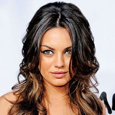 light layer underneath  Mila Kunis - Transformation - Beauty - Celebrity Before and After