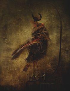 Bird by AnjaMillen on DeviantArt
