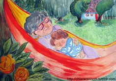Chiara Cerinotti's illustration. Children's book project. http://chiaracerinotti.tumblr.com