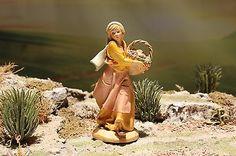 5-034-Fontanini-Nativity-VILLAGER-RACHEL-Depose-Italy-1993-VERY-NICE Fontanini Nativity, Italy, Nice, Fictional Characters, Art, Art Background, Italia, Kunst, Performing Arts