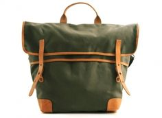 LEVIS MADE & CRAFTED CONVERTIBLE TOTE GREEN