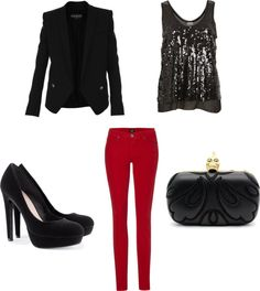 """NYE outfit"" by nmd789 on Polyvore"