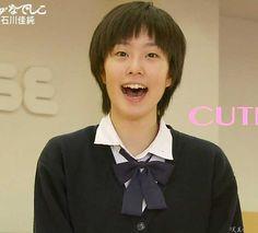 石川佳純 高校時代の写真