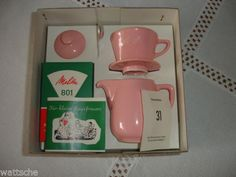 Melitta-Minden-Kaffee-Filka-Filter-und-Kanne-fuer-Kinder-rosa-in-OVP